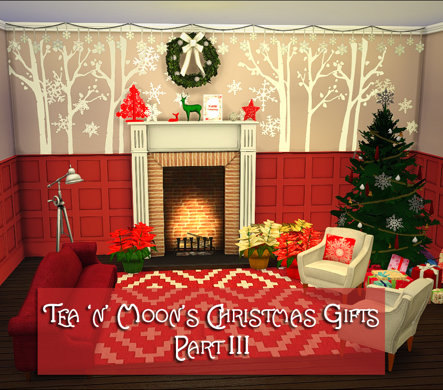My Sims 4 Blog: Christmas Decor By Teanmoon