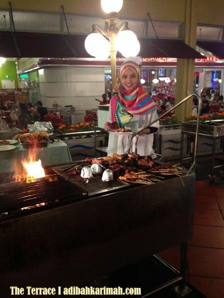 Masakan di The Terrace sedap