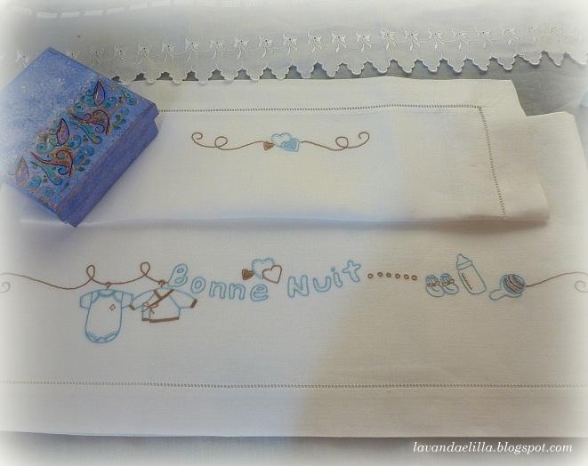 Lavanda e lill lenzuolino in lino e tutorial della for Misure cuscino carrozzina