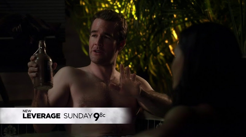 James Van Der Beek Shirtless in Franklin and Bash s1e09