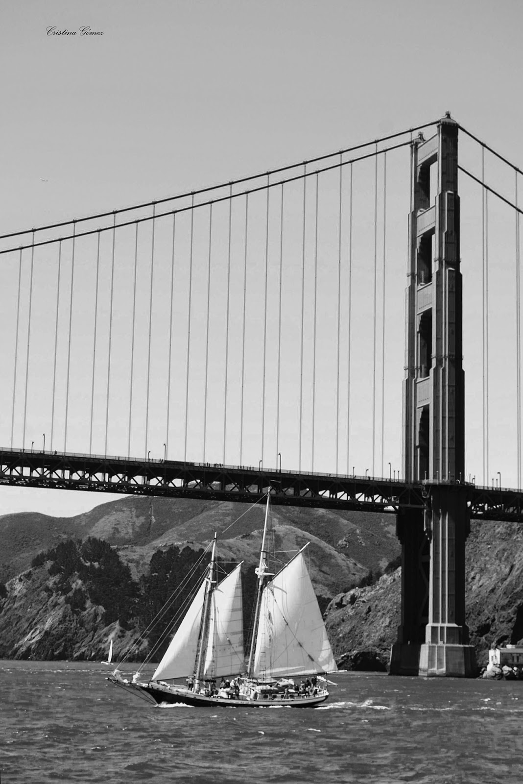 photography golden gate bridge san francisco black and white