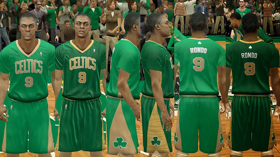 NBA St. Patrick's Day Jersey Boston Celtics