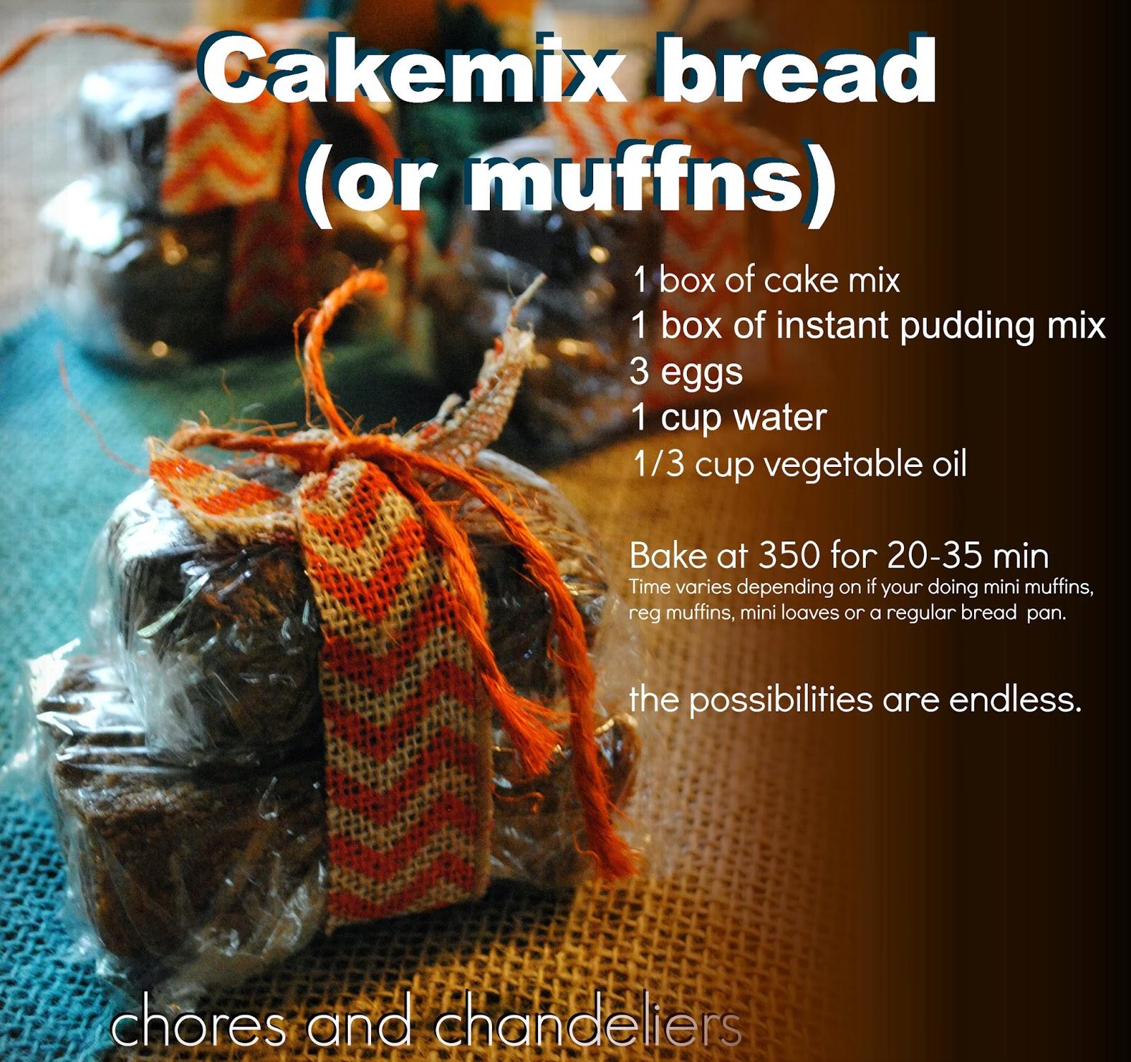 http://choresandchandeliers.blogspot.com/2013/10/cake-mix-bread-recipe-suzi-homefaker.html
