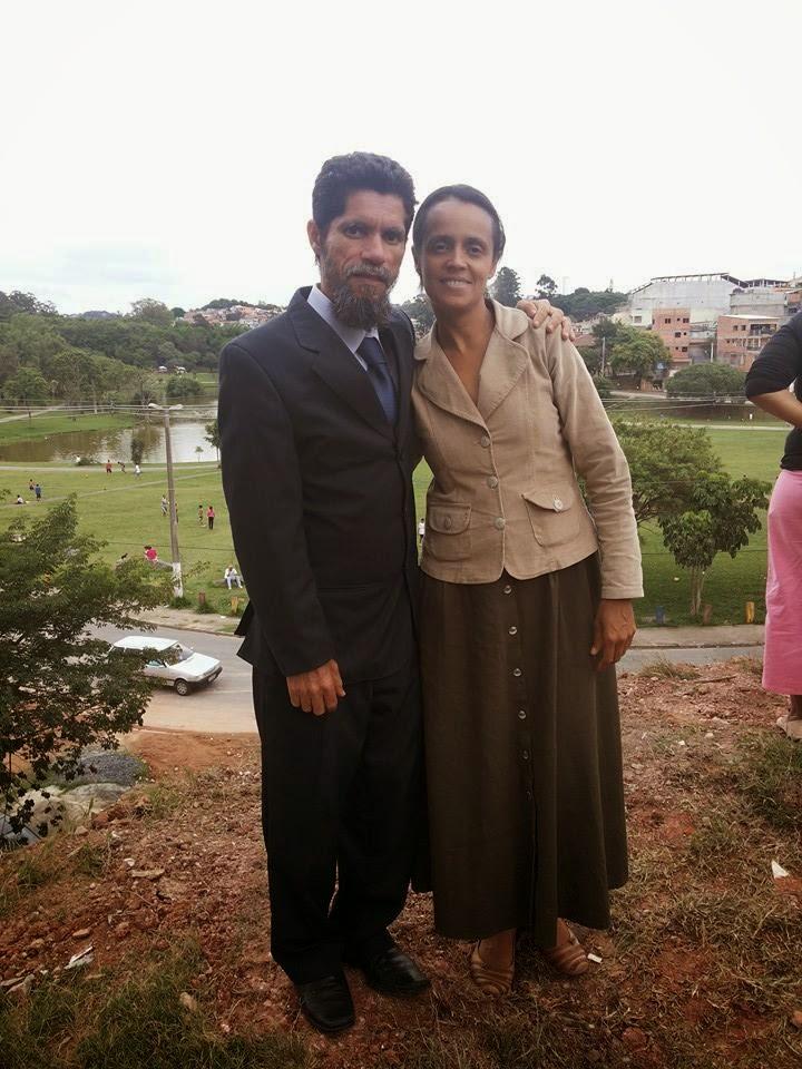 Pr Ismael e Esposa