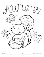 Free Autumn Coloring Pages3
