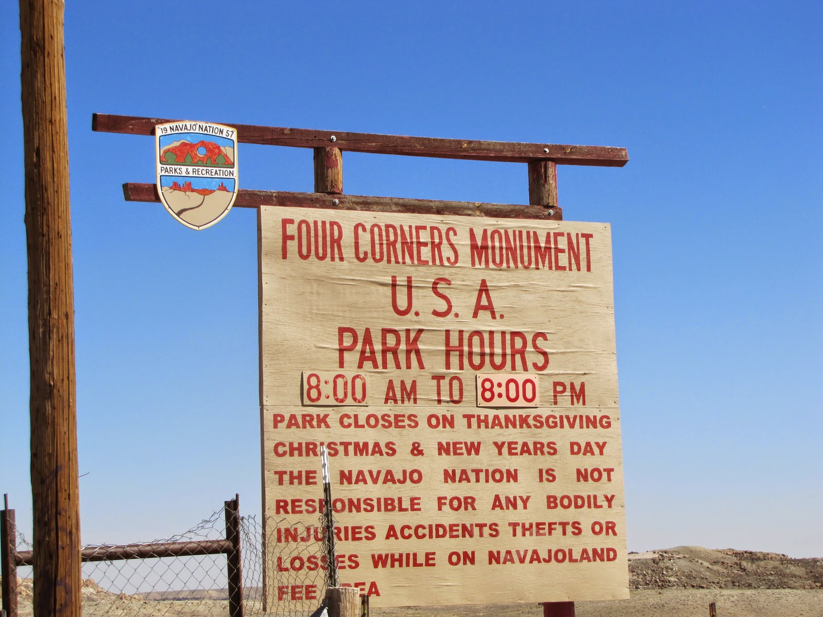 there is only one place on the united states map where four states come together it is here in this high desert in the navajo nation