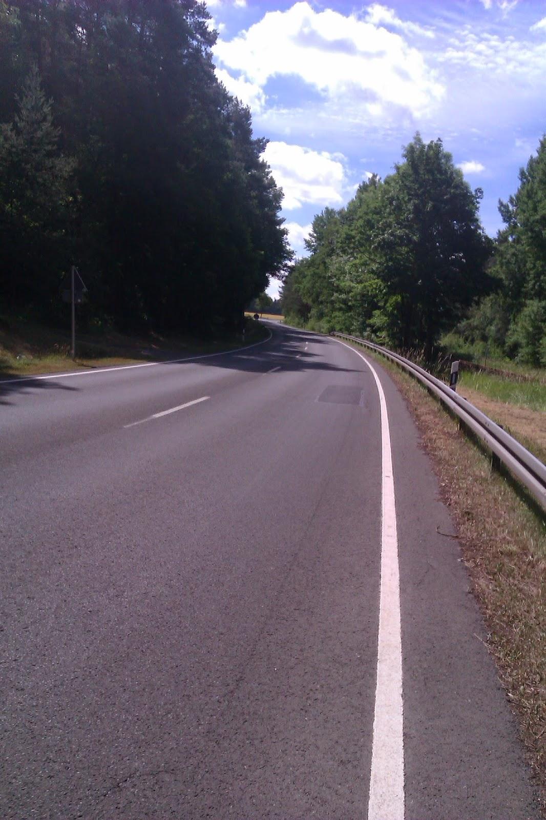 Radweg von Eschenbach nach Schwarzenbach