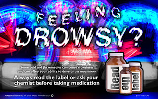 Drowsiness posters