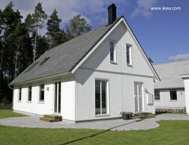 Arquitectura de casas casas prefabricadas suecas boklok - Casas prefabricadas nordicas ...