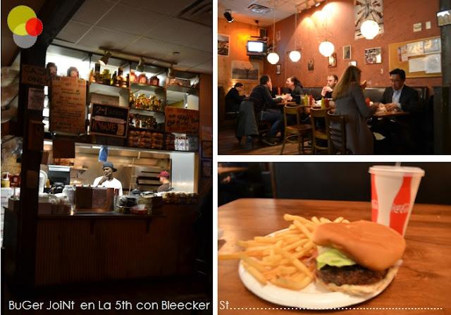 Burger Joint en Le Parker Meridien