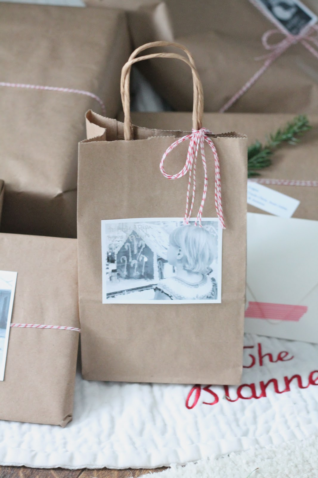 Easy Gift Wrap Idea Via Julieblanner