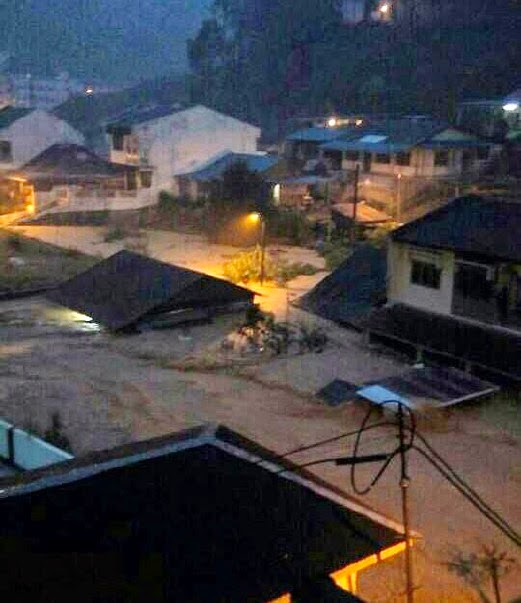 banjir lumpur cameron highlands