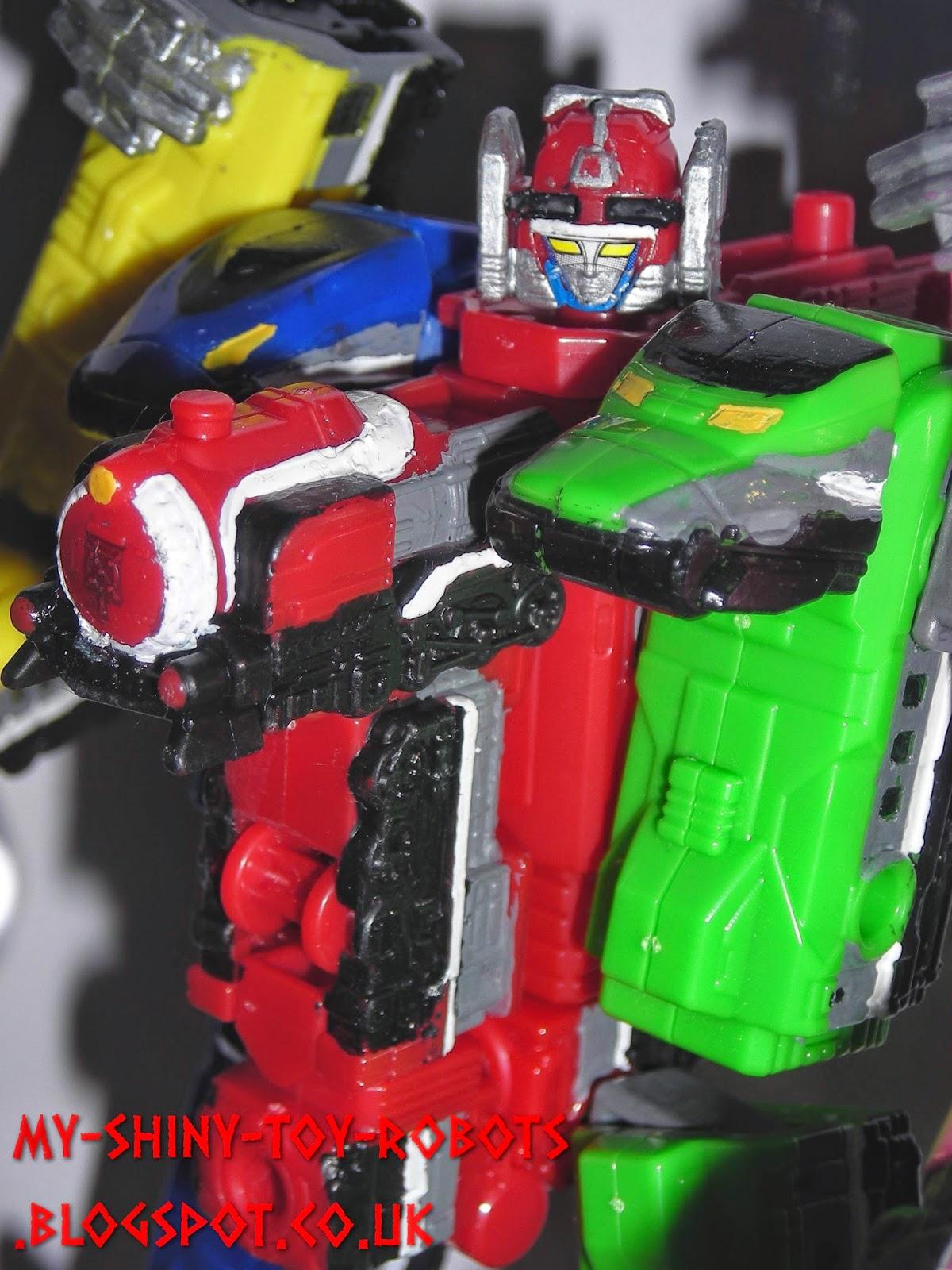 Minipla ToQOh from Ressha Sentai ToQger