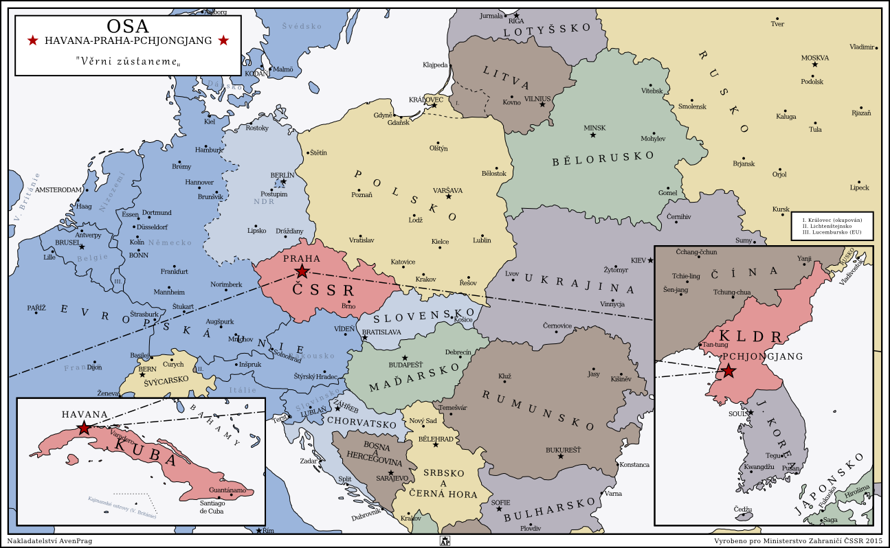 Alternate history weekly update map monday velvet what by in this world there was no velvet revolution and the communists in czechoslovakia remained in power as the iron curtain collapsed gumiabroncs Choice Image
