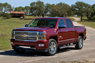 Chevrolet Silverado High Country (2014) Front Side 1