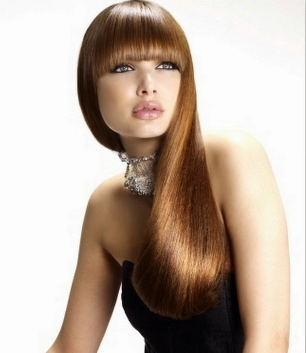 stylish and exclusive long hair styles collection 2014 for