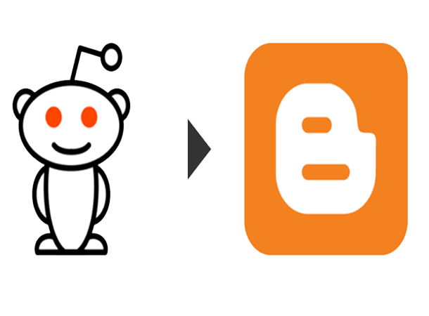 reddit share button for blogger