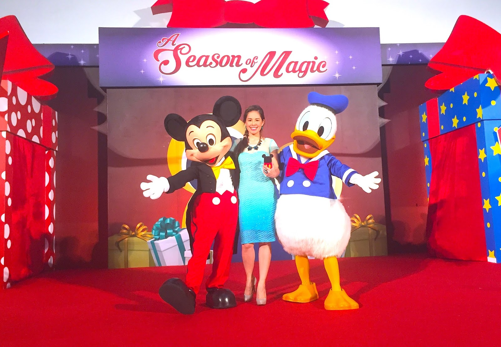 Marylaines gigs getaways and godric my unforgettable christmas finally mickey mouse and donald duck let me into their magical realm and my first project is disney on ice led by an awesome meet greet in four m4hsunfo