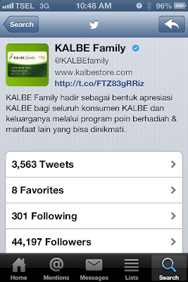 @KalbeFamily Kalbe Family Indonesia Verified Twitter Account