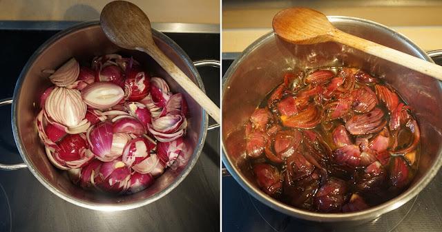 Balsamico-Zwiebelkuchen - Zwiebel