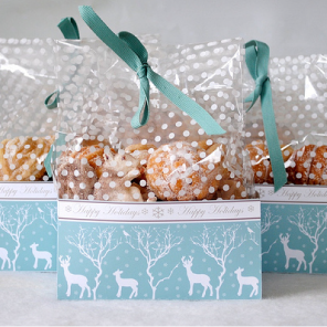 Winter Woodland treat boxes by Torie Jayne