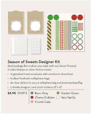 Sweet Pressed Cookie Stamps Kit - www.jennsavstamps.blogspot.com