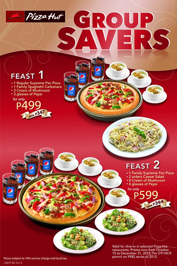 pizza hut philippines Pizza hut, inc, a subsidiary of yum brands, inc (nyse: yum) is the world's largest pizza restaurant company with more than 6,200 restaurants in the united states and more than 4,000 restaurants.