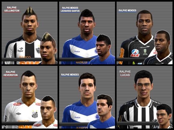 Baixar Mega FacePack Brasileirão 2012 para PC do Pro Evolution Soccer 2012 Grátis