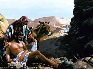 """E, respondendo Jesus, disse: Descia um homem de Jerusalém para Jericó, e caiu nas mãos dos salteadores, os quais o despojaram e, espancando-o, se retiraram, deixando-o meio morto.  E, ocasionalmente, descia pelo mesmo caminho certo sacerdote; e, vendo-o, passou de largo.  E, de igual modo, também um levita, chegando àquele lugar e vendo-o, passou de largo.  Mas um samaritano que ia de viagem chegou ao pé dele e, vendo-o, moveu-se de íntima compaixão.   E, aproximando-se, atou-lhe as feridas, aplicando-lhes azeite e vinho; e, pondo-o sobre a sua cavalgadura, levou-o para uma estalagem e cuidou dele;   E, partindo ao outro dia, tirou dois dinheiros, e deu-os ao hospedeiro, e disse-lhe: Cuida dele, e tudo o que de mais gastares eu to pagarei, quando voltar.   Qual, pois, destes três te parece que foi o próximo daquele que caiu nas mãos dos salteadores?   E ele disse: O que usou de misericórdia para com ele. Disse, pois, Jesus: Vai e faze da mesma maneira.""""   Examinando a palavra de Deus, vemos que o Senhor Jesus usava de parábolas para ensinar ao povo, para que o povo pudesse entender o que o Senhor queria dizer e ensinar. E vendo isso os discípulos o perguntaram:  Os discípulos aproximaram-se d'Ele e perguntaram: """"Por que falas ao povo por parábolas? """" Ele respondeu: """"A vocês foi dado o conhecimento dos mistérios do Reino dos céus, mas a eles não. A quem tem será dado, e este terá em grande quantidade. De quem não tem, até o que tem lhe será tirado. Por essa razão eu lhes falo por parábolas: 'Porque vendo, eles não vêem e, ouvindo, não ouvem nem entendem (Mateus 13:10-13)"""
