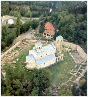 The Sopoćani monastery, Serbia