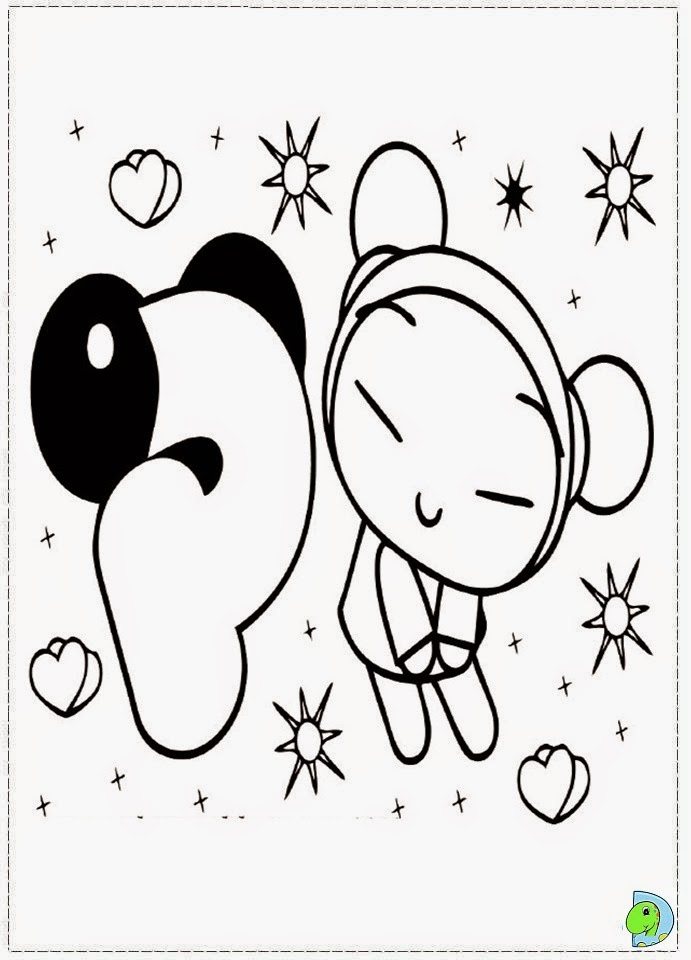 coloring pages of pucca - photo#30