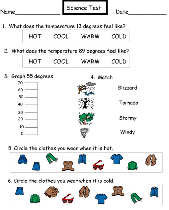 Autism Tank: Weather Test