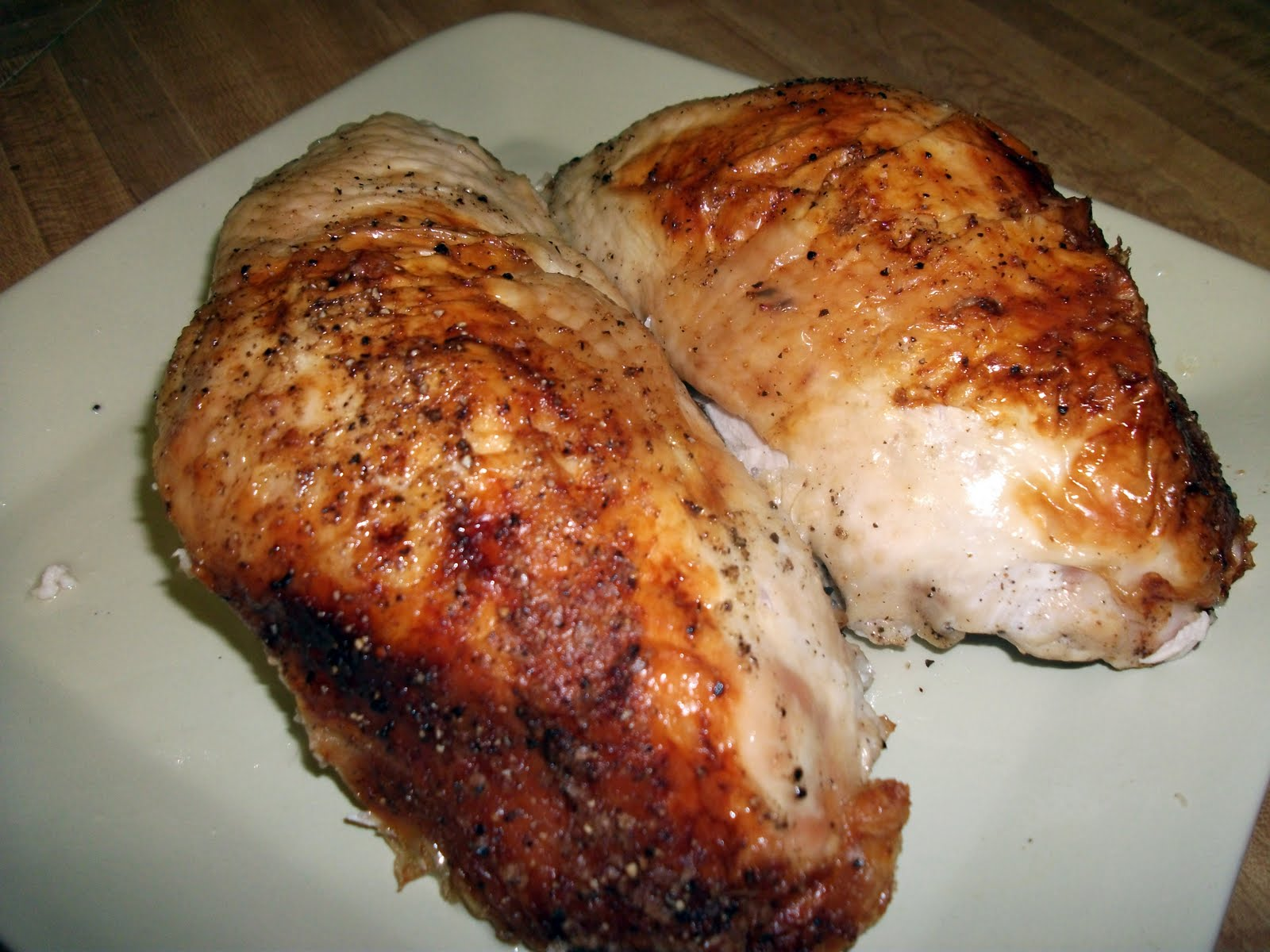 Simple Roast Turkey Breast and Gravy