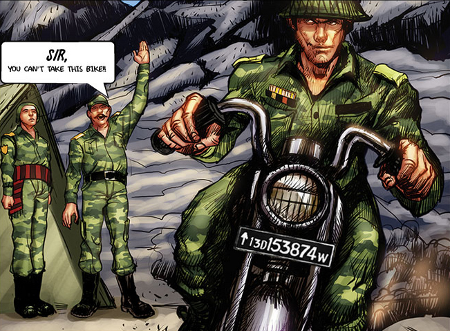 RoyalEnfields.com: Royal Enfield Bullet rides off to war ...