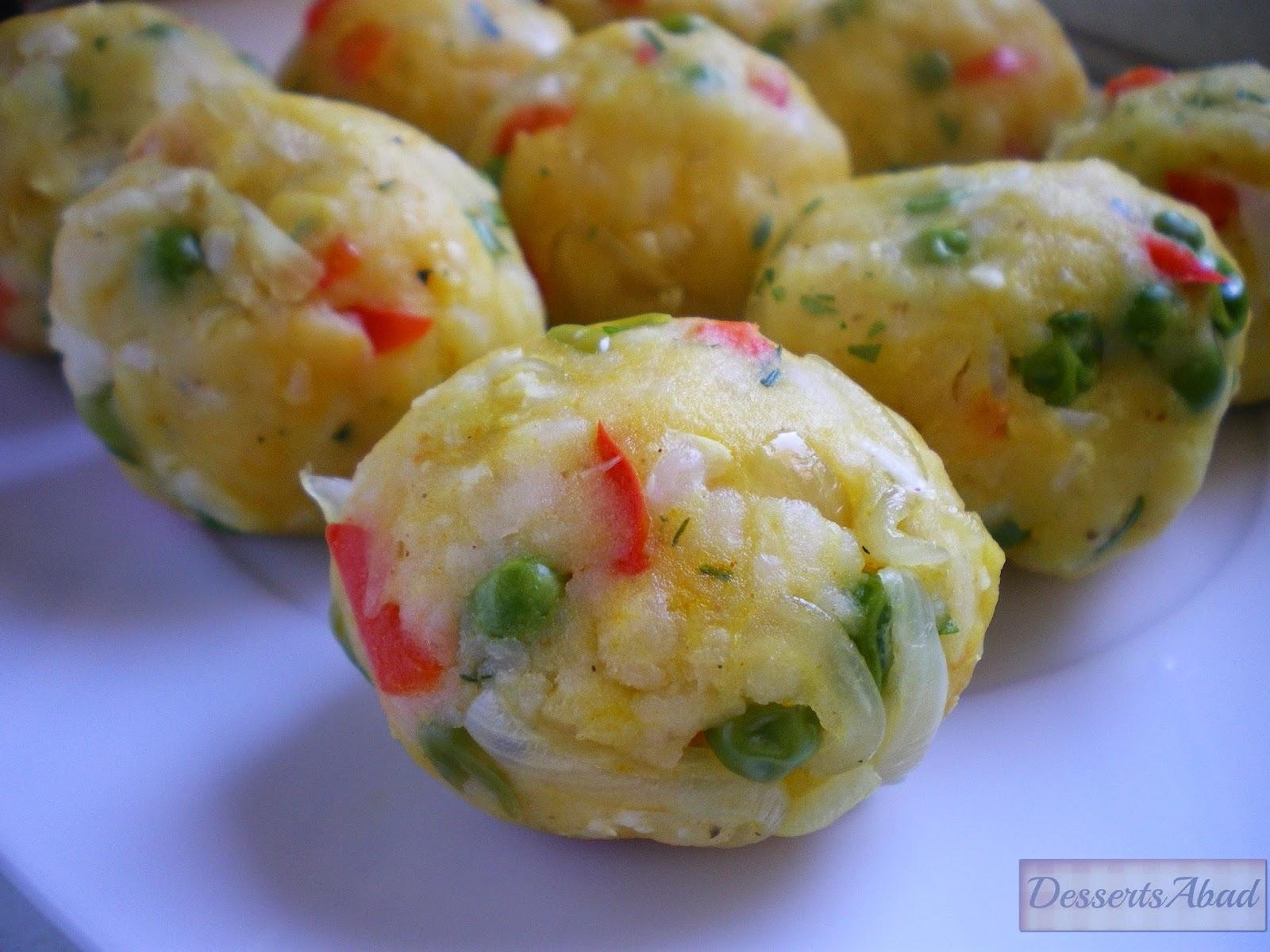 Tortitas indias de patata (elaboración de las tortitas)