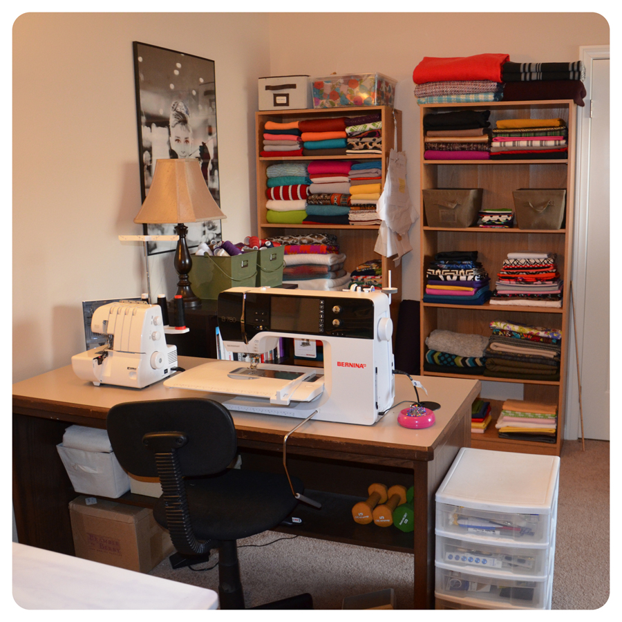 My sewing studio how i organize patterns fabric fashion lifestyle and diy - Comfortably luxury home offices ideas making working less stressful ...