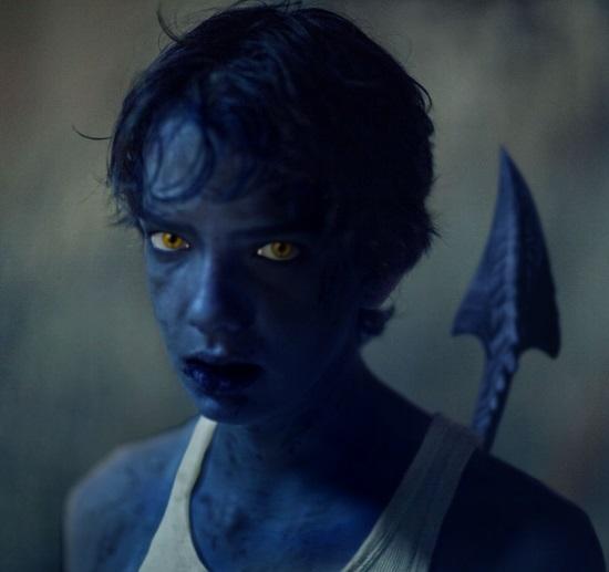 Kodi Smit-McPhee como 'Nightcrawler'