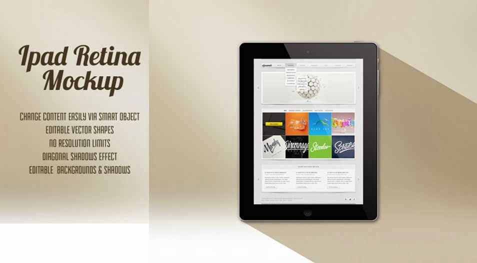 45  best free ipad psd mockup templates