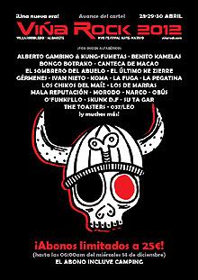 Primeras confirmaciones y entradas a la venta del Viña Rock 2012