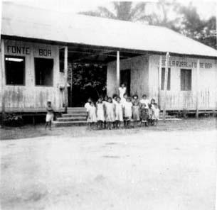 FONTE BOA (AM) - Escola Rural - 1956
