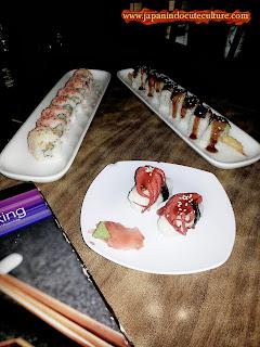 Makan sushi gratis I Fasilitas Super Hotel Termurah Jepang