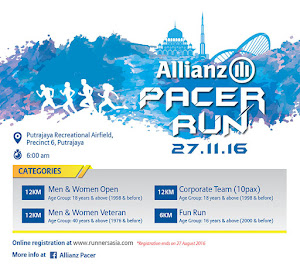 Allianz Pacer Run 2016 - 27 November 2016