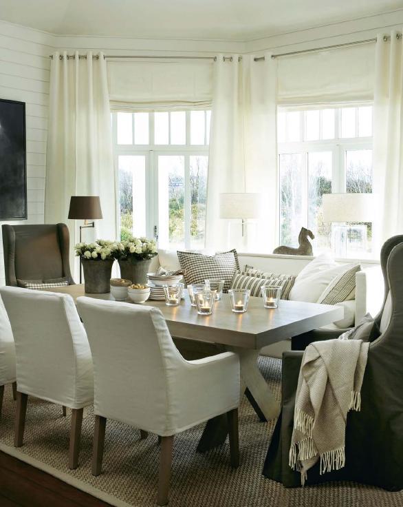 Vintage chic klassisk vintage classy but vintage for Comfortable dining room ideas