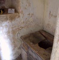 Castle Bolton garderobe toilet Britain