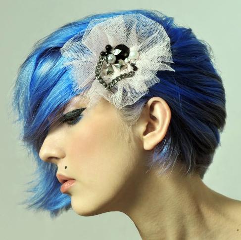 how to fix blue lagoon hair
