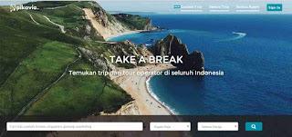 Pikavia.com, cara baru agen tour dalam berjualan paket tour