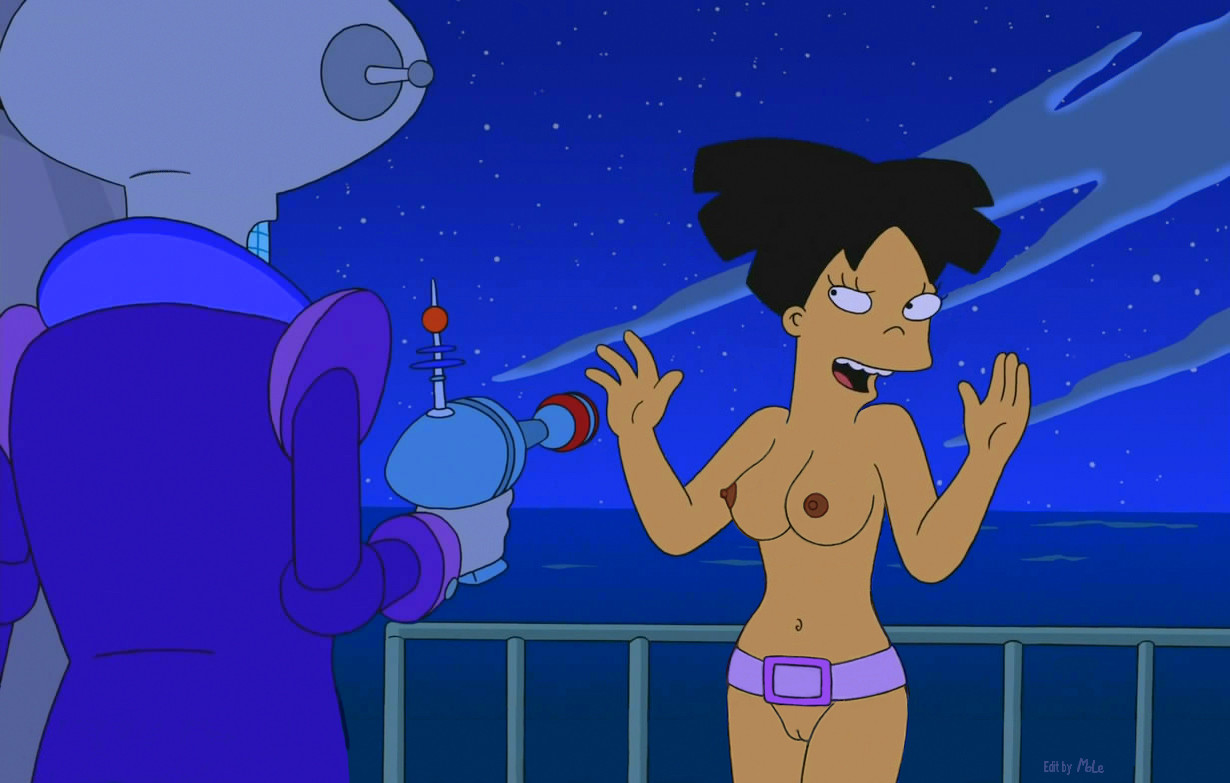 Amy from futurama nude 1