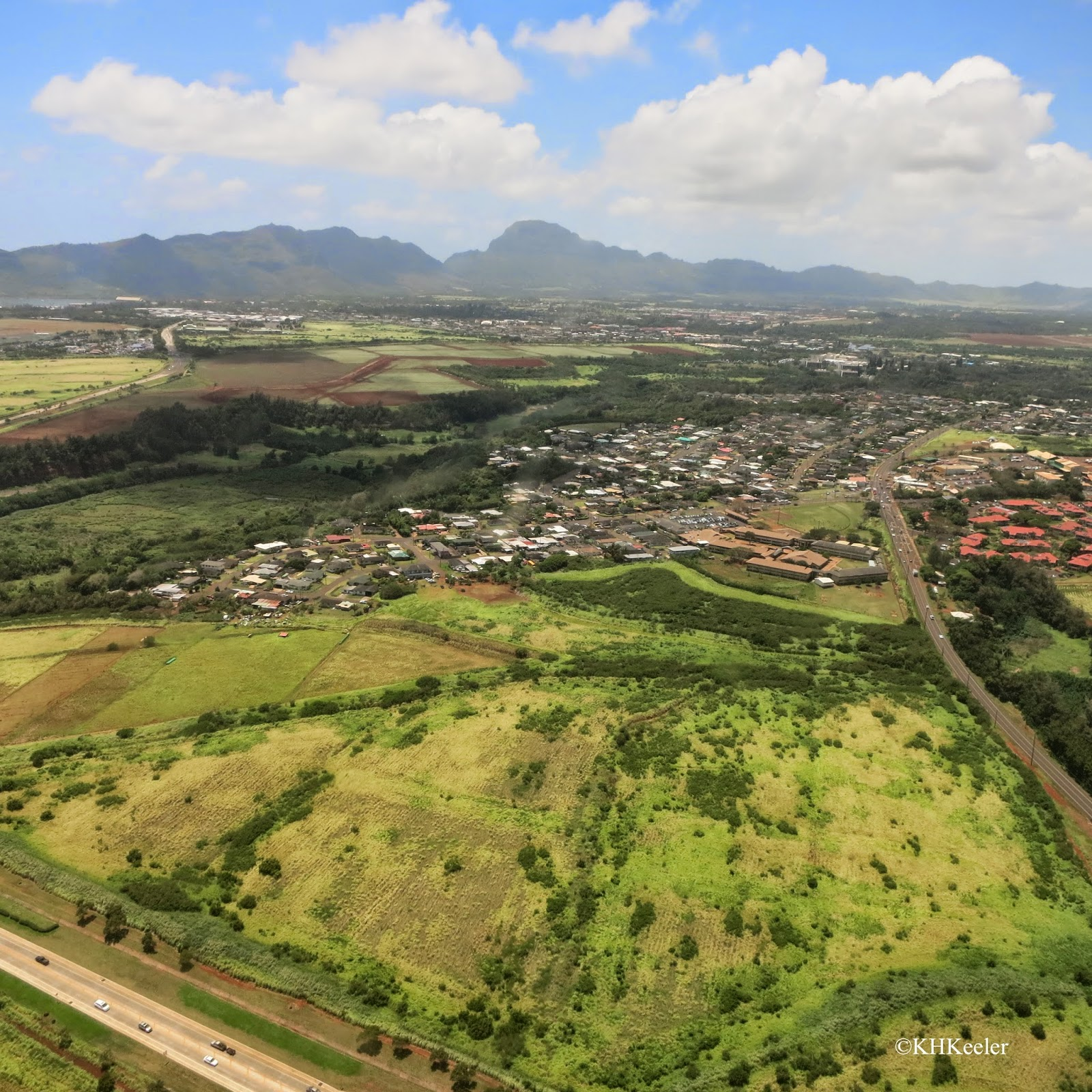 Kauai from the helicopter
