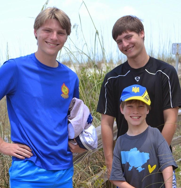 Elijah, Ben and Aaron