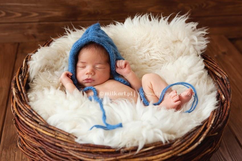 sesje noworodkowe, fotografia dziecięca, sesja zdjęciowa dzieci w poznaniu, fotograf noworodkowy, MILKart